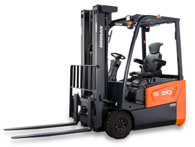 Solutions of Excellence - in <span>Electic Forklifts</span>