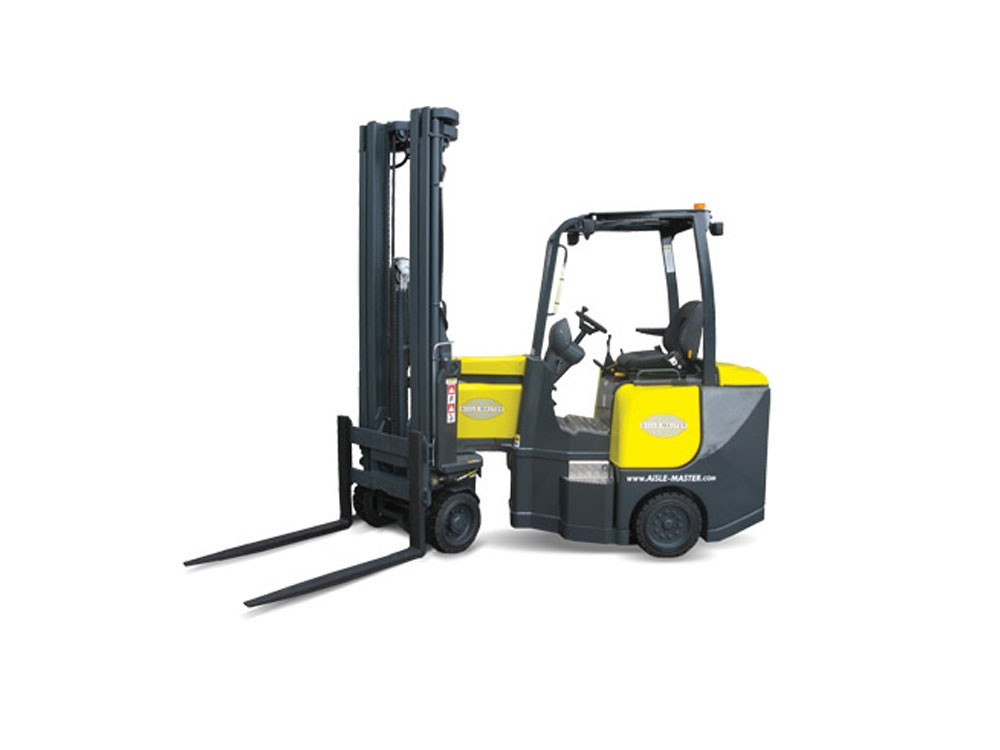Narrow Aisle Forklift : Aisle master se very narrow forklift wisconsin