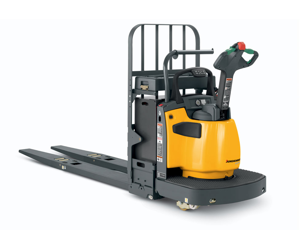 Jungheinrich ecr 327 336 pallet truck wisconsin lift truck for Motorized pallet jack rental