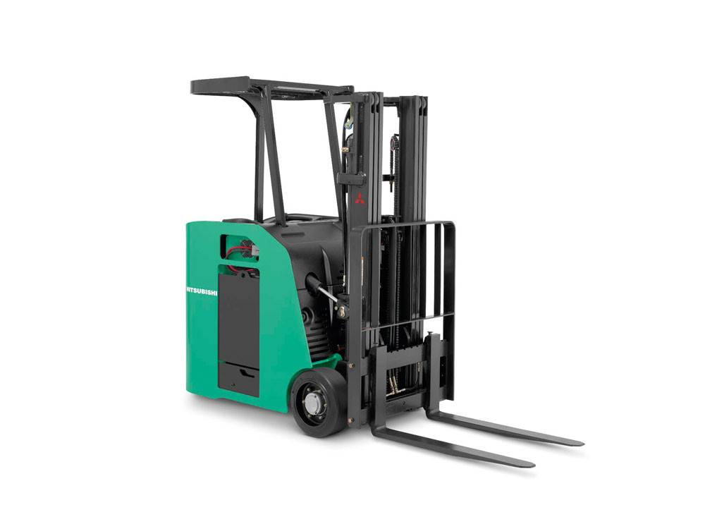 Mitsubishi FBC15NS-FBC20NS Electric Stand-Up End Control Forklift - Wisconsin Lift Truck