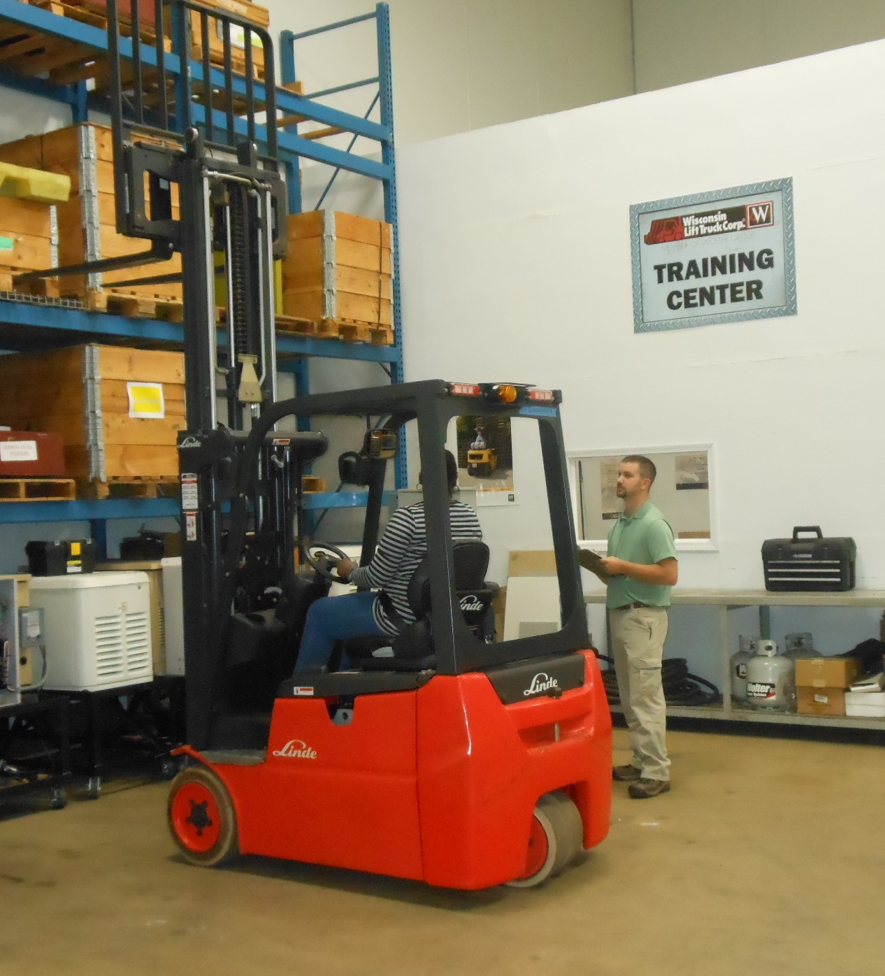 Forklift Operator Training Classes Wisconsin Upper Michigan