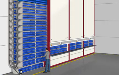 Automated Storage Amp Retrieval Systems From Wisconsin Lift