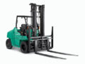 Mitsubishi FD70N1 Heavy Duty Internal Combustion Pneumatic Tire Forklift