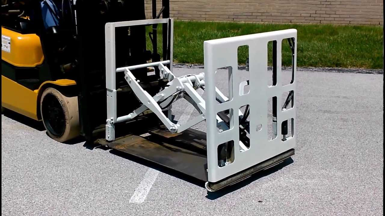 Push Pull Forklift Attachment