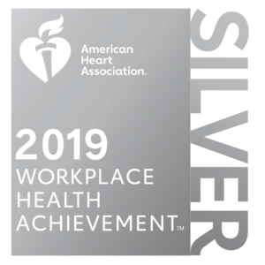 American Heart Association Workplace Health Award 2019