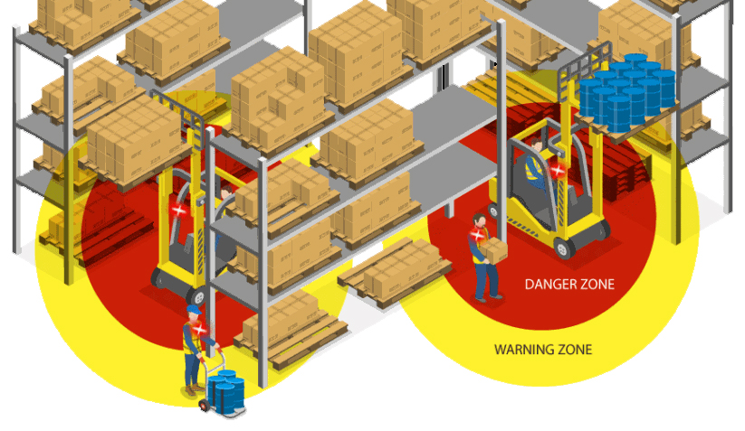 Hit-Not reduce forklift and pedestrian accidents in warehouses. Available from Wolter Group LLC